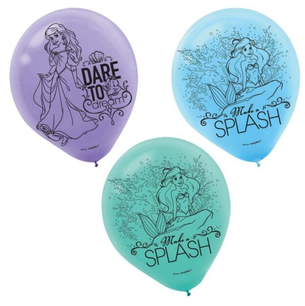 Ariel Dream Big 30cm Latex Balloons