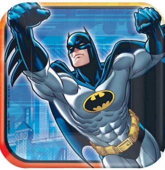 Batman 17cm Square Plate
