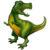 42_ Shape Foil Tyrannosaurus