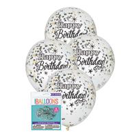 Confetti Latex Balloons