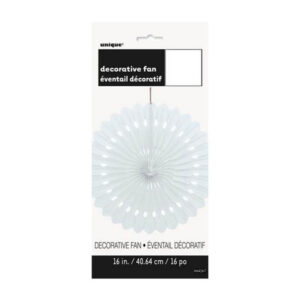 Decorative Fan Bright White 40cm (FILEminimizer)