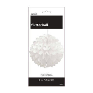 Flutter Ball Bright White - 20cm (8) (FILEminimizer)