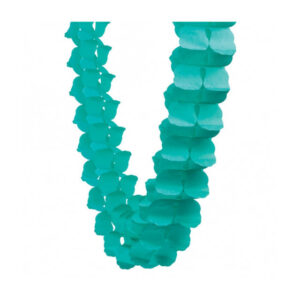 HONEYCOMB GARLAND CLASSIC TURQUOISE 4M 1 PK (FILEminimizer)