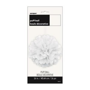 Puff Ball Decor Bright White 40cm (16) (FILEminimizer)