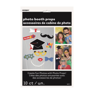 10 Selfie Photo Props - Graduation