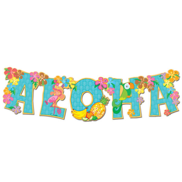 Aloha Jointed Streamer Banner
