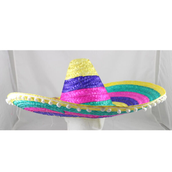 SOMBERO Hat of 60 cm. The bright color.