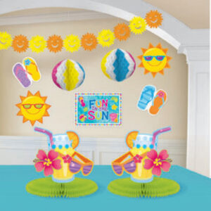 Fun In the Sun Decorations Kit