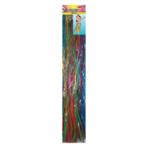 Luau Hula Skirt - Assorted Colours 89cm W x 79cm L