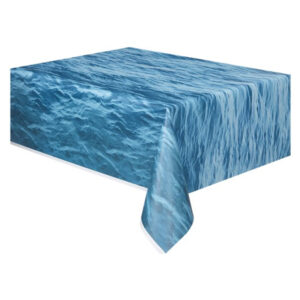 Ocean Waves Plastic Tablecover 137cm x 274cm