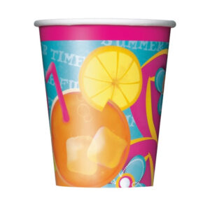 Pool Party 8 x 270ml (9oz) Cups
