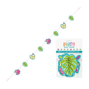 Summer Pineapple & Flamingo Cut Out Banner 1.82m